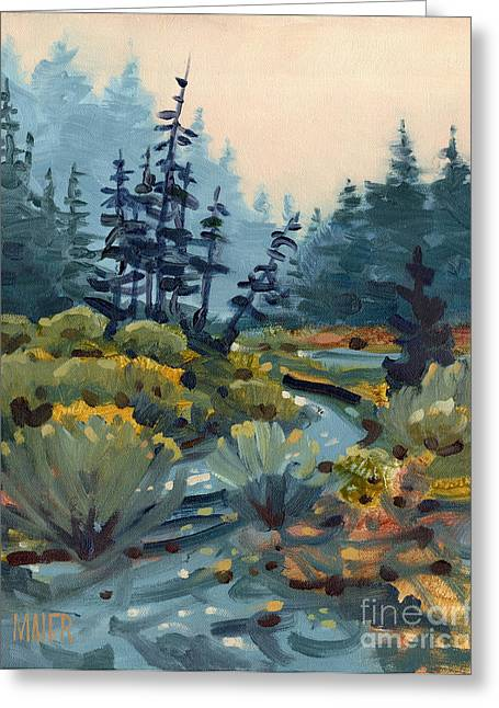 Sonoma Greeting Cards - River Bend Greeting Card by Donald Maier