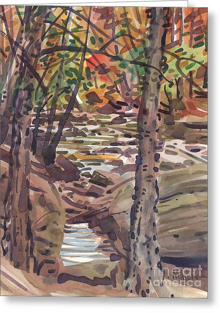 Ga Greeting Cards - River Birch Greeting Card by Donald Maier