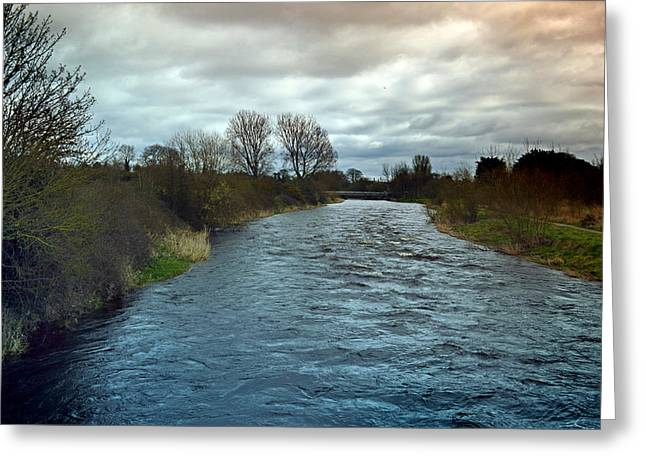 Historic Site Greeting Cards - River Boyne. Greeting Card by Terence Davis