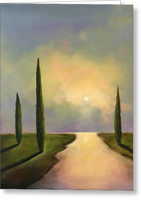 River Dreams Greeting Card by Toni Grote