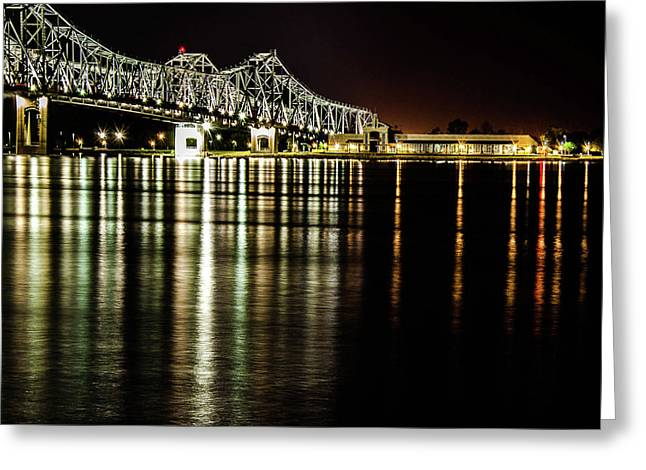 River Front Vidalia Greeting Card by Stan Smith