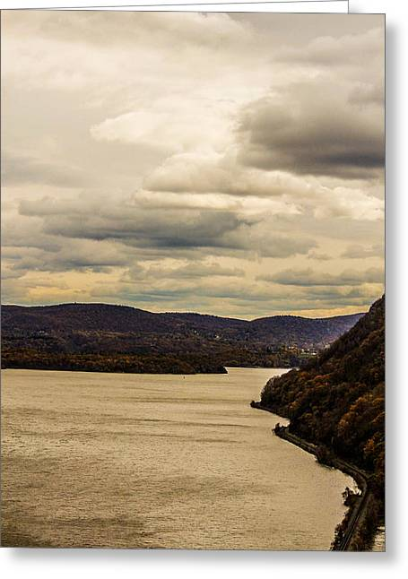 River Greeting Card by Victory  Designs