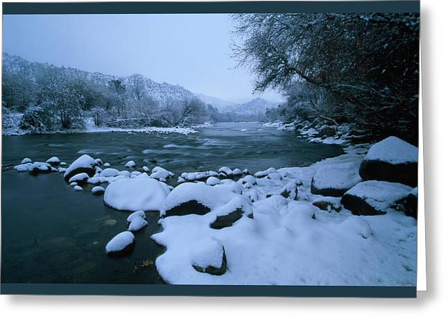 Riverside Park - Kernville California Greeting Card by Soli Deo Gloria Wilderness And Wildlife Photography