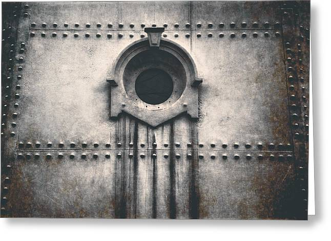 Rivets And Rust Greeting Card by Scott Norris