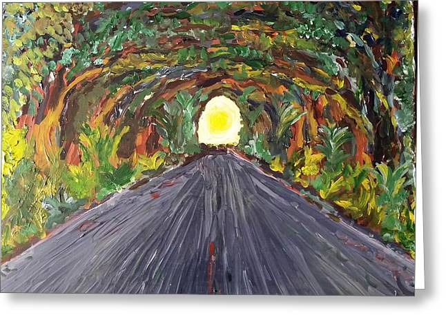 Road To Heaven ? Greeting Card by Peter Nervo