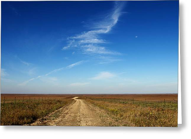 Michael Knight Greeting Cards - Road to Nowhere Greeting Card by Michael Knight