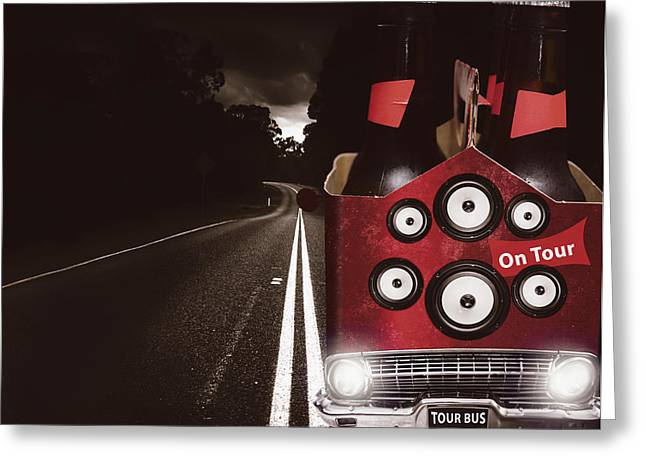 Roadies On Beer Festival Tour Greeting Card by Jorgo Photography - Wall Art Gallery