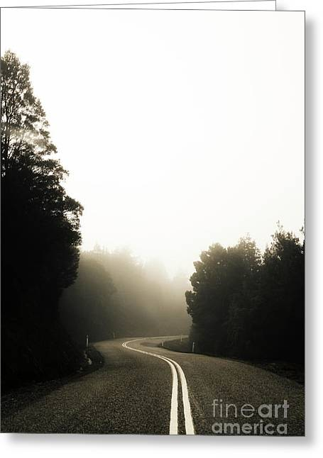 Roads Of Twists And Turns Greeting Card by Jorgo Photography - Wall Art Gallery