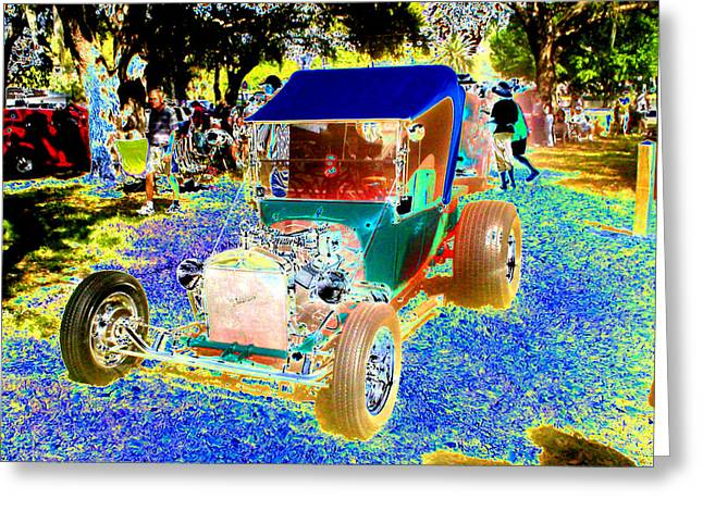 Historical Car Greeting Cards - Roadster Greeting Card by Peter  McIntosh