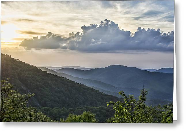 Southern Appalachians Greeting Cards - Roan Mountain Vista Greeting Card by Heather Applegate