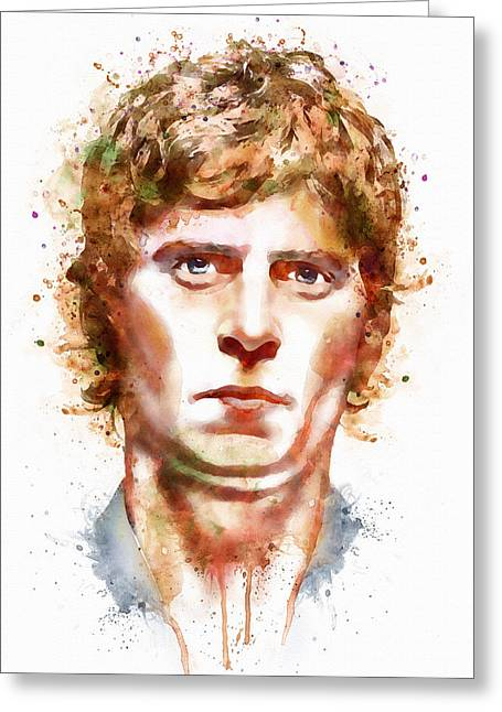 Pop Singer Greeting Cards - Rob Thomas  Greeting Card by Marian Voicu