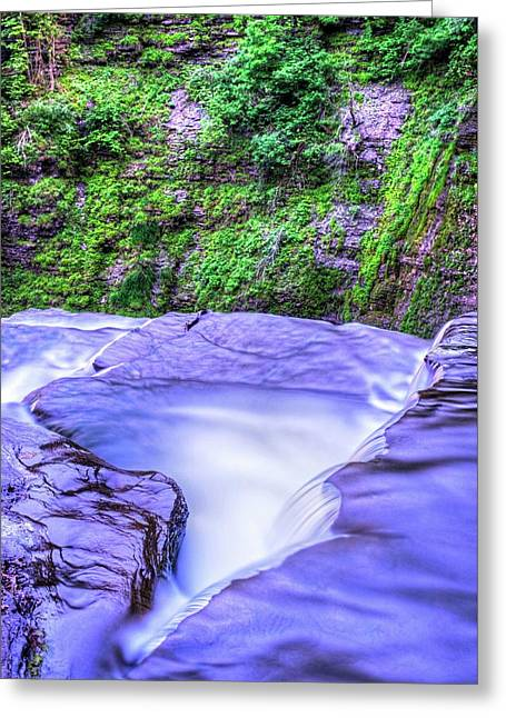 Robert H. Treman State Park Edge Ithaca Ny Greeting Card by Toby McGuire