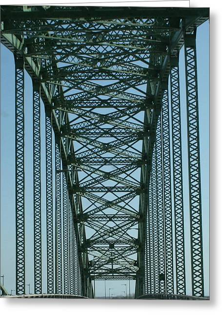 Robert Moses Greeting Cards - Robert Moses Causeway Bridge Greeting Card by Christopher Kirby