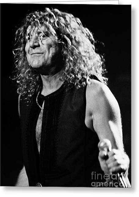 Robert Plant-0039 Greeting Card by Timothy Bischoff