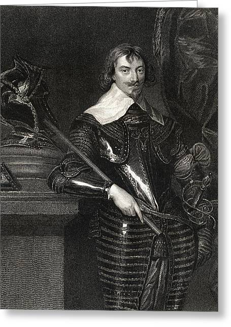 Warwick Greeting Cards - Robert Rich 2nd Earl Of Warwick, Baron Greeting Card by Ken Welsh