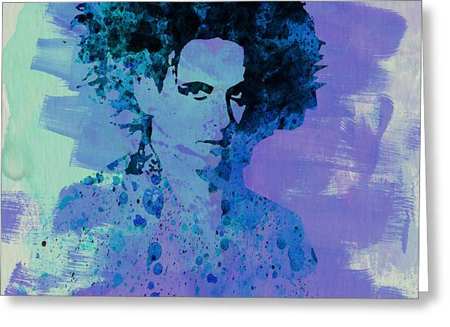 Robert Smith Cure Greeting Card by Naxart Studio