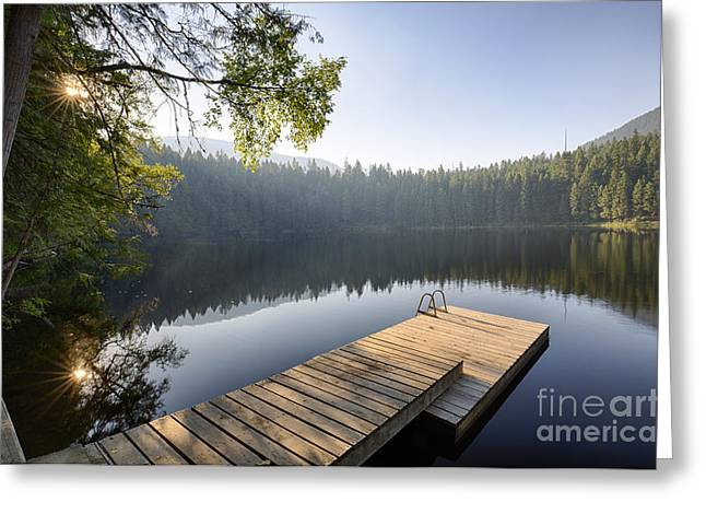 Boundary Waters Greeting Cards - Robinson Evening Greeting Card by Idaho Scenic Images Linda Lantzy