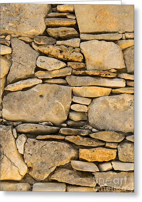 Wimberley Greeting Cards - Rock Architecture Two Greeting Card by Bob Phillips