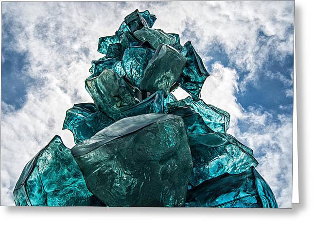 Rock Candy Tower Greeting Card by Pelo Blanco Photo