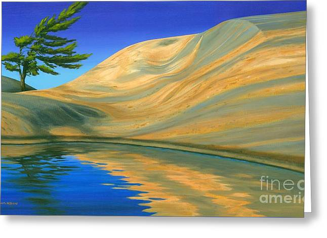 Manitoulin Greeting Cards - Rock of Ages Greeting Card by Michael Swanson