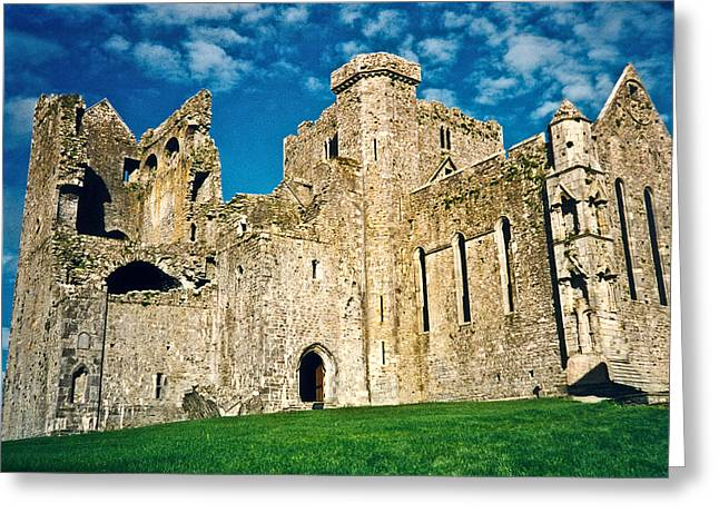 Patch Greeting Cards - Rock of Cashel Ireland Greeting Card by Douglas Barnett