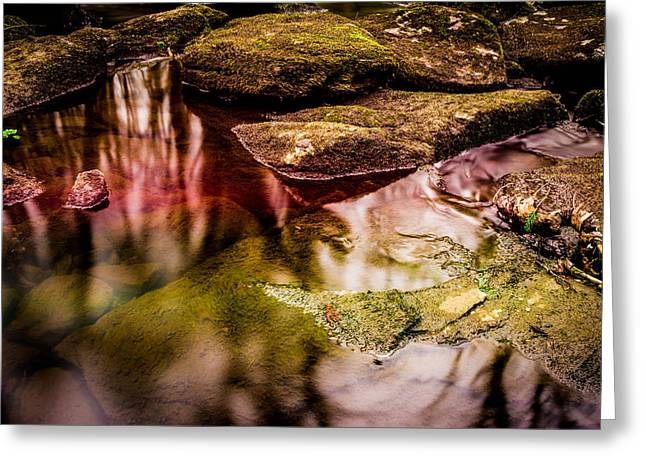 Therapy Greeting Cards - Rocks by the stream Greeting Card by Toppart Sweden