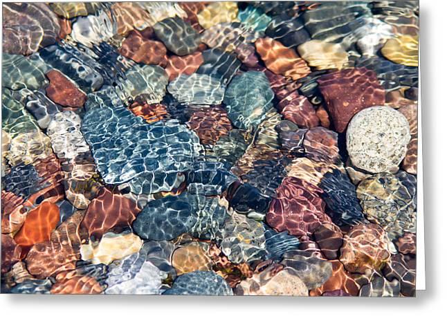 Campobello Island Greeting Cards - Rocks Greeting Card by Mary Johnston