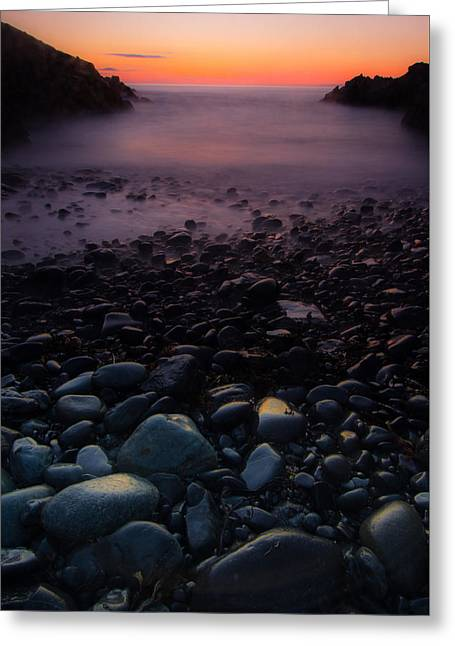 Rocks Greeting Card by William Sanger