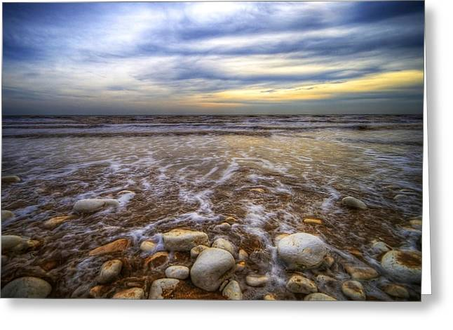 Svetlana Sewell Greeting Cards - Rocky Beach Greeting Card by Svetlana Sewell
