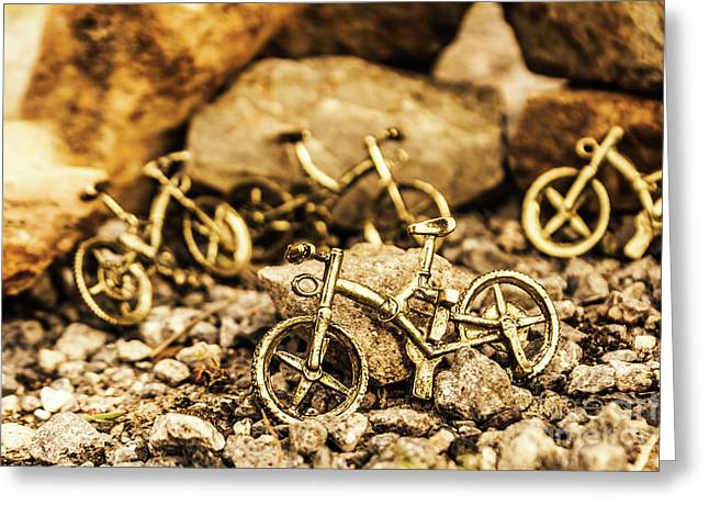 Rocky Cape Bicycles Greeting Card by Jorgo Photography - Wall Art Gallery