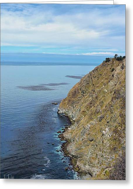 Big Sur Ca Greeting Cards - Rocky Coastline Greeting Card by Connor Beekman