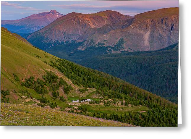 Colorado Mountain Prints Greeting Cards - Rocky Mountain Wilderness Greeting Card by Darren  White
