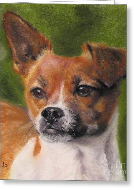Friendship Pastels Greeting Cards - Rocky Greeting Card by Sabina Haas