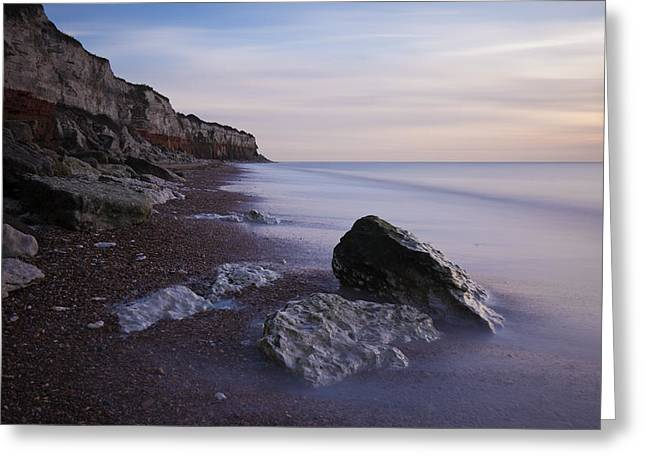 Ethereal Beach Scene Greeting Cards - Rocky Shore Greeting Card by Ian Merton