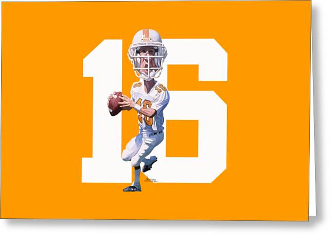 Rocky Top Greeting Card by Noah Stokes
