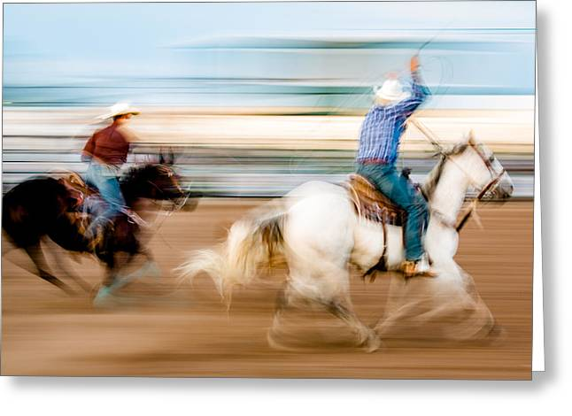 Rodeo Dreams Greeting Card by Todd Klassy