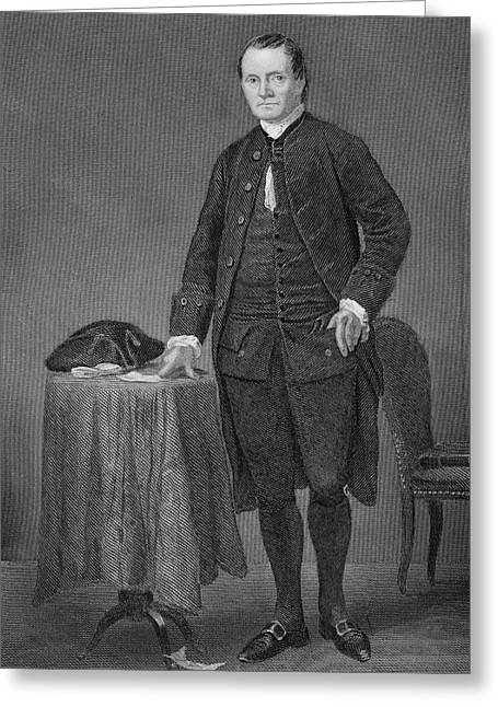 Roger Sherman 1721-1793. American Greeting Card by Vintage Design Pics