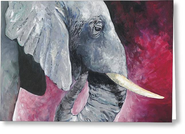 Roll Tide Paintings Greeting Cards - Roll With The Tide Greeting Card by Rich Ogden