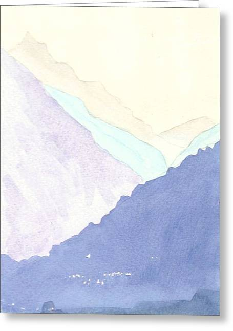 Vale Greeting Cards - Rolling Hills Greeting Card by Jim Green