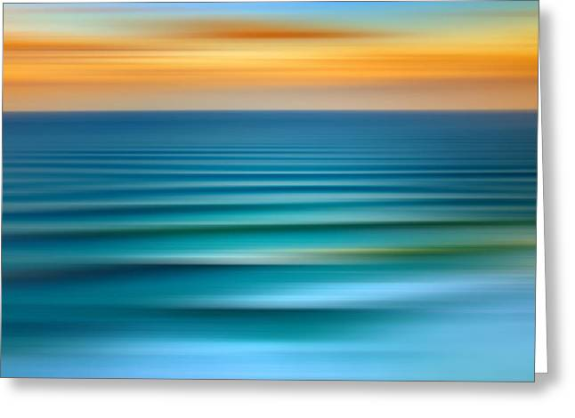 Long Beach Greeting Cards - Rolling In Greeting Card by Az Jackson
