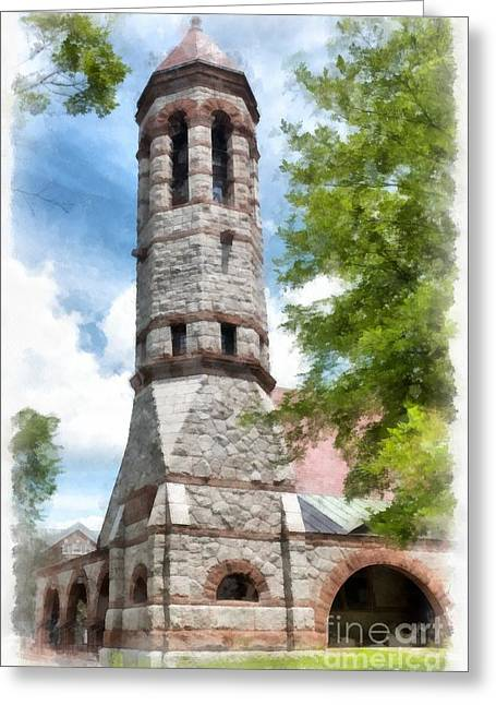 Hanover College Greeting Cards - Rollins Chapel Dartmouth College Greeting Card by Edward Fielding
