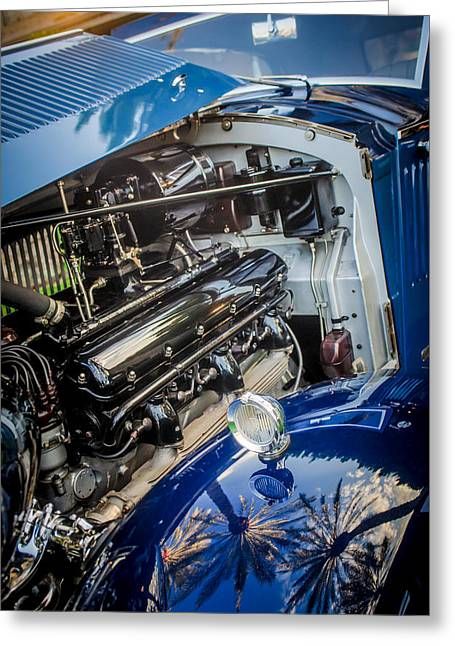 Famous Photographer Greeting Cards - Rolls-Royce Engine -0263c Greeting Card by Jill Reger