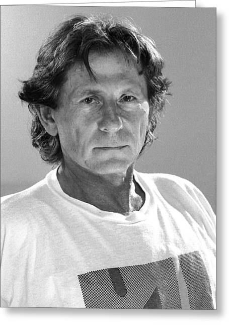 University Of South Florida Greeting Cards - Roman Polanski Greeting Card by Jean-Marie Bottequin