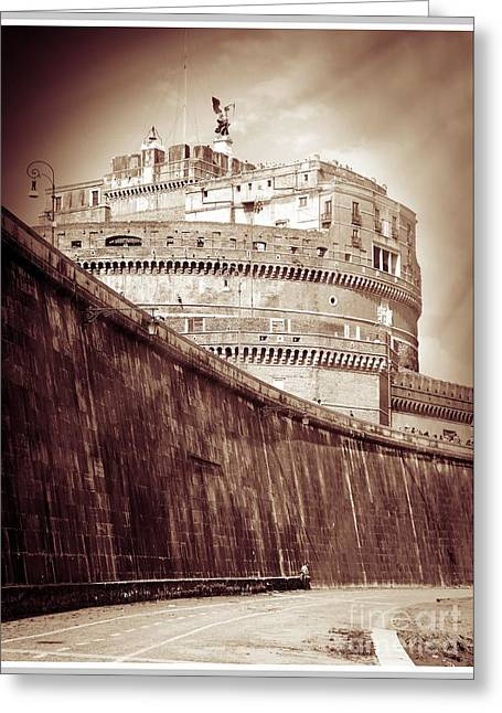 Rome Monument Architecture Greeting Card by Stefano Senise