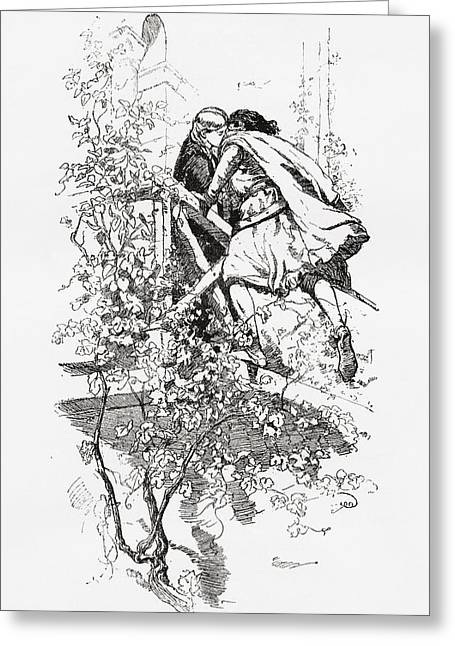 Juliet Greeting Cards - Romeo And Juliet. From La Leyenda Del Greeting Card by Ken Welsh