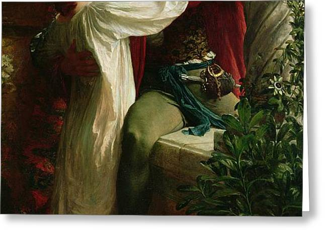 Romeo and Juliet Greeting Card by Sir Frank Dicksee