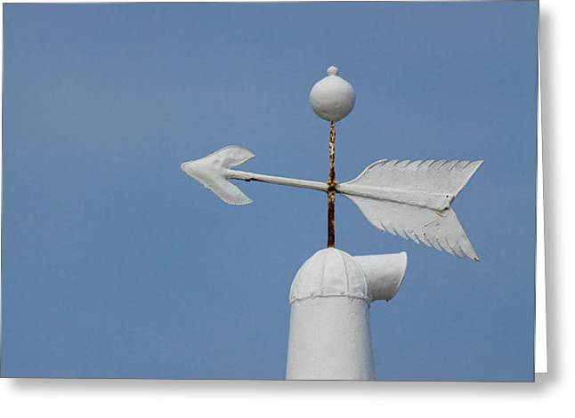 Rooftop of lighthouse Greeting Card by Gabriela Insuratelu