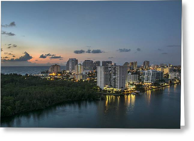 Exposure Greeting Cards - Rooftop Solace Greeting Card by Kevin Ruck