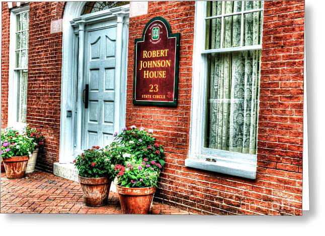 Annapolis Maryland Greeting Cards - Room at the Inn Greeting Card by Debbi Granruth