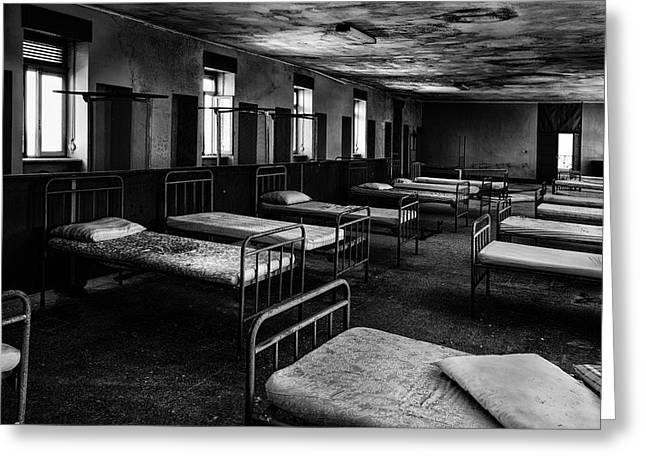 Room Of Nightmares - Abandoned School Building Greeting Card by Dirk Ercken